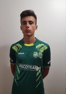 Stefano Morea con la maglia dell'Atletico Casamaxima