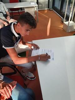 Morea firma il contratto con la Ssc Bari