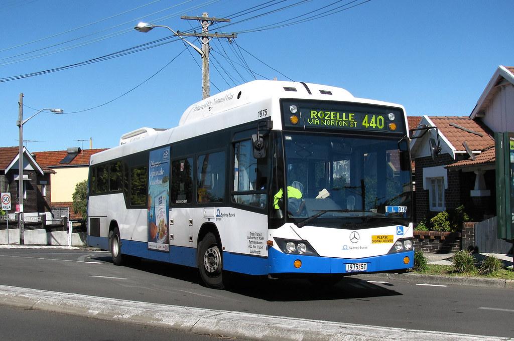 Bus 1975, Lilyfield, Sydney, NSW.
