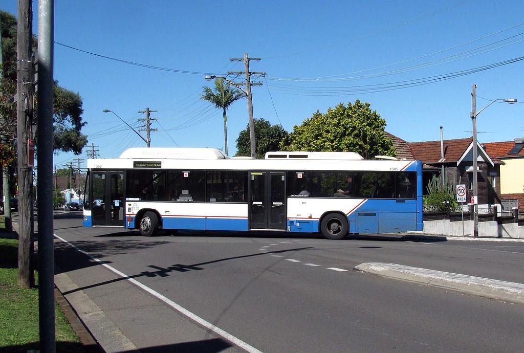 Bus 1306, Lilyfield, Sydney, NSW.