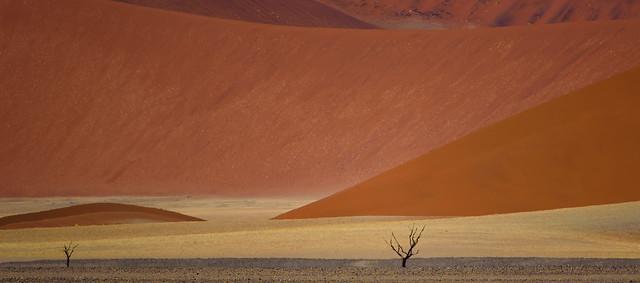 Artist palette - Namib desert