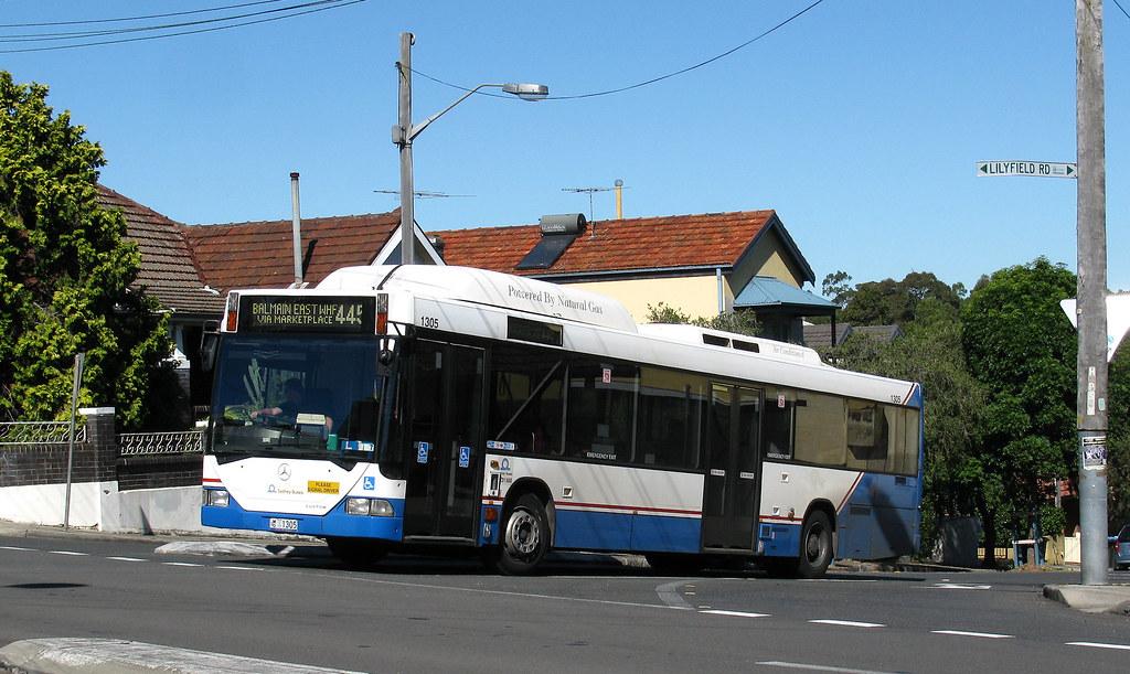 Bus 1305, Lilyfield, Sydney, NSW.
