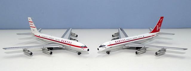 Qantas Boeing 707-138s
