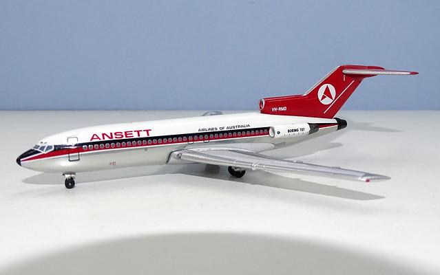 Ansett Airlines of Australia Boeing 727-100 VH-RMD