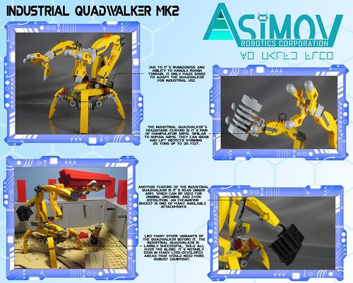 Asimov Corp Mk2 Industrial Quadwalker