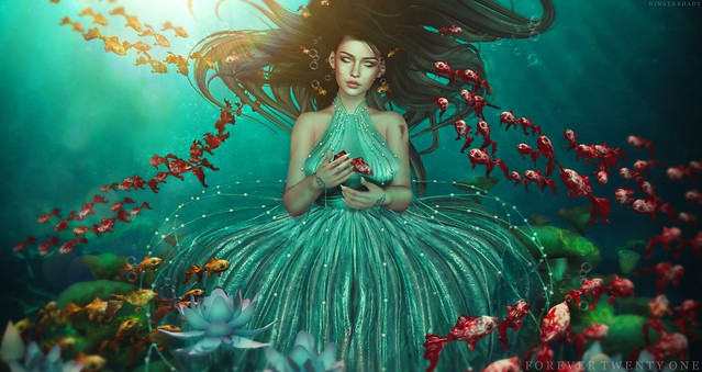 New Post: ∞Forever Twenty One∞ LOTD 721 Under The Sea...