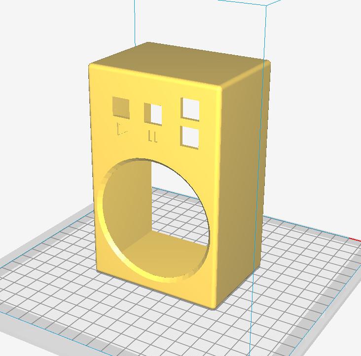 Speaker DFPlayer model Rev 1