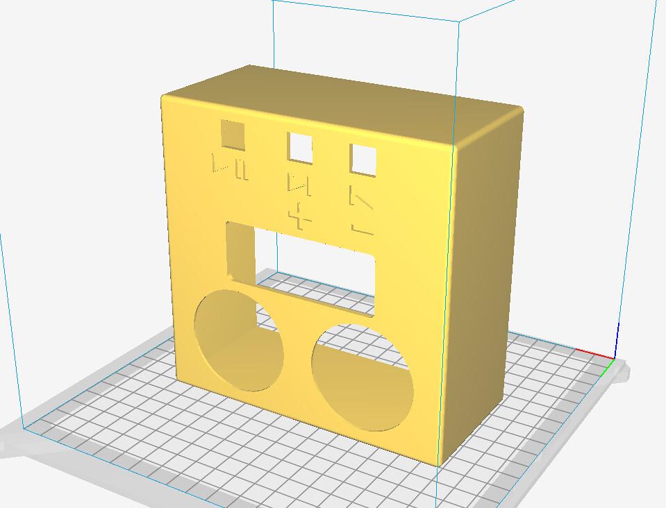 Speaker DFPlayer model rev 2