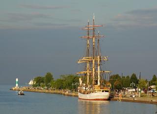 Tall Ship in the Kenosha Harbor