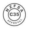 Green Rhino Enviro Glass & Mirror Cleaner is NZFSA C35 Approved