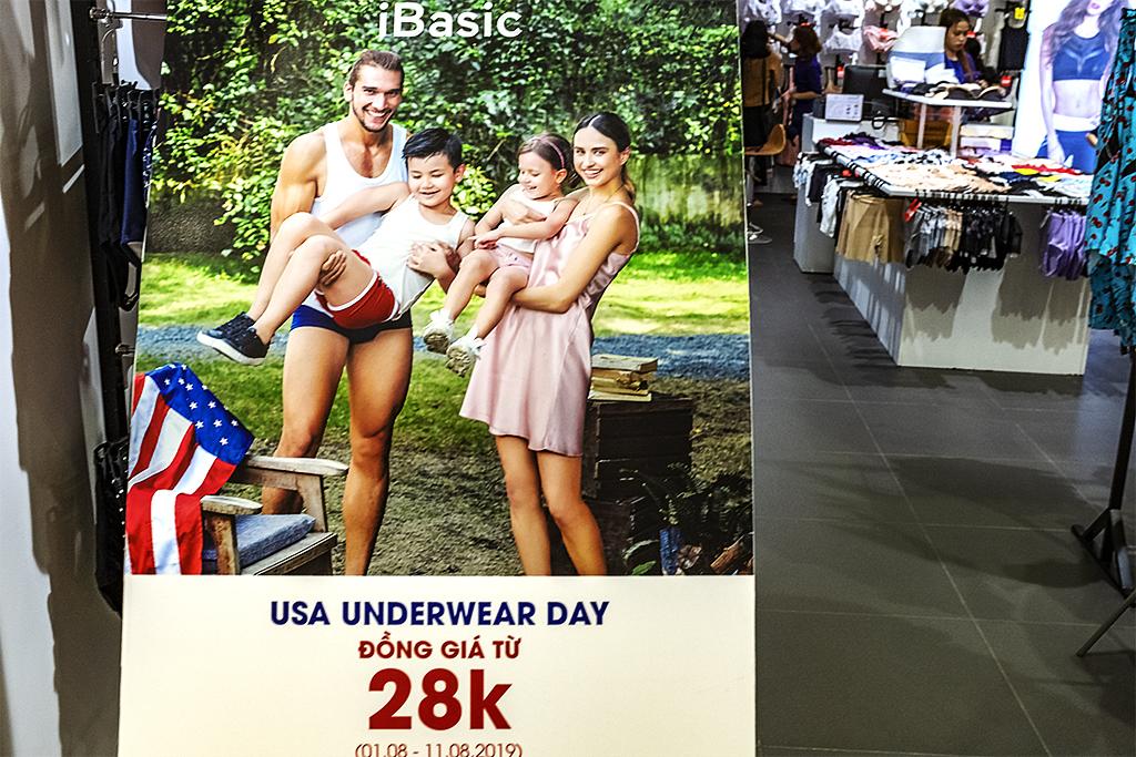 USA UNDERWEAR DAY--Saigon