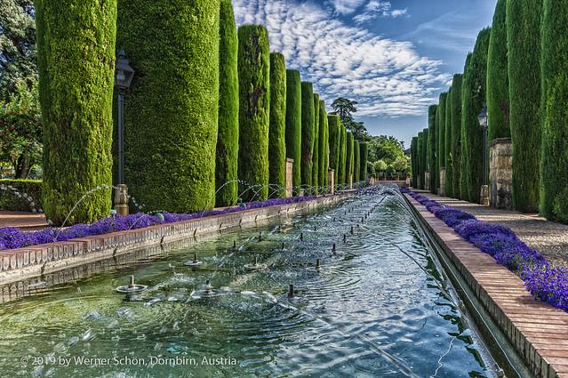 Gardens of Alcázar de los Reyes Cristianos
