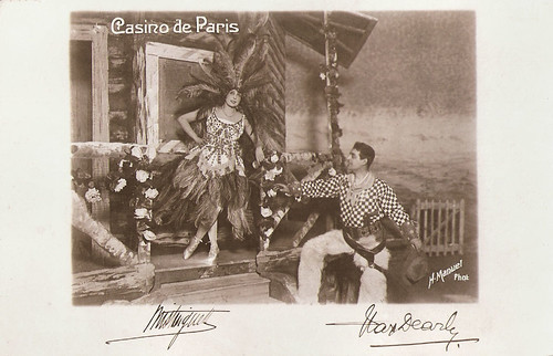 Mistinguett and Max Dearly at the Casino de Paris