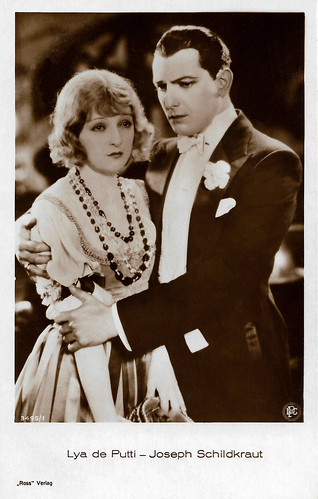 Lya de Putti and Joseph Schildkraut in The Heart Thief (1927)