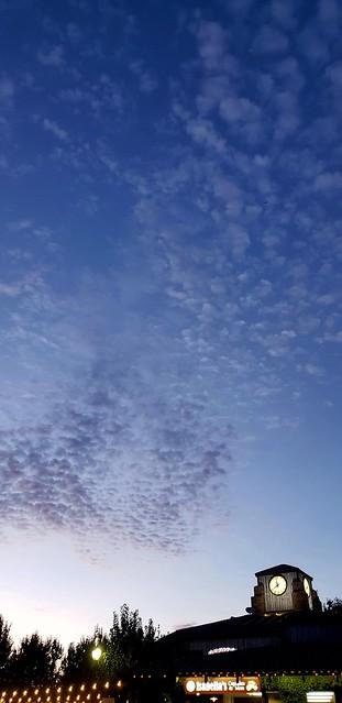 Evening clouds  , Riverside CA