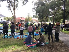 Gathering in the Reserve - Teddy Bears Picnic to #SaveGandolfoGardens IMG_1540