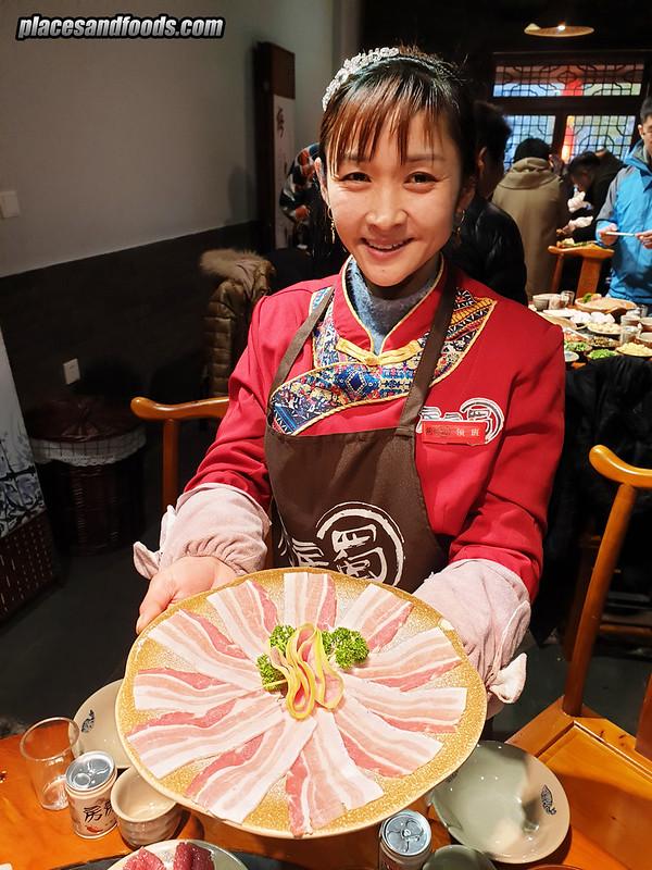 Le Shan Hotpot Restaurant 房房燭火鍋 bacon