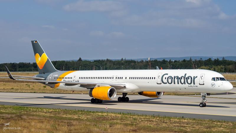 D-ABOK Condor Boeing 757-330(WL)