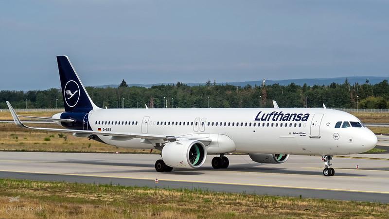D-AIEA Lufthansa Airbus A321-271NX