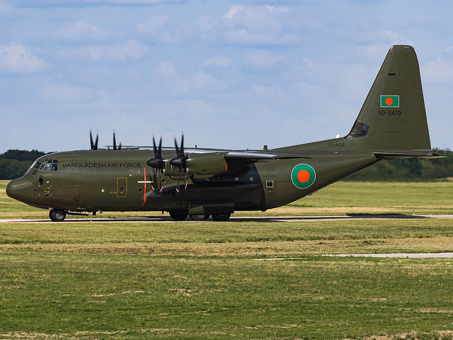 Bangladesh Air Force | Lockheed Martin C-130J Hercules C5 | 99-5479 (S3-AGE)