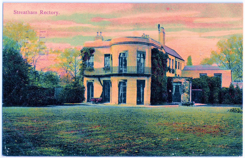 Tooting Bec Gardens - Streatham Rectory Prior to 1907. And Doctor Seuss.