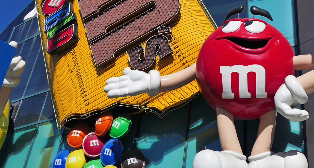 M&M's World, Las Vegas | Mooistestedentrips.nl