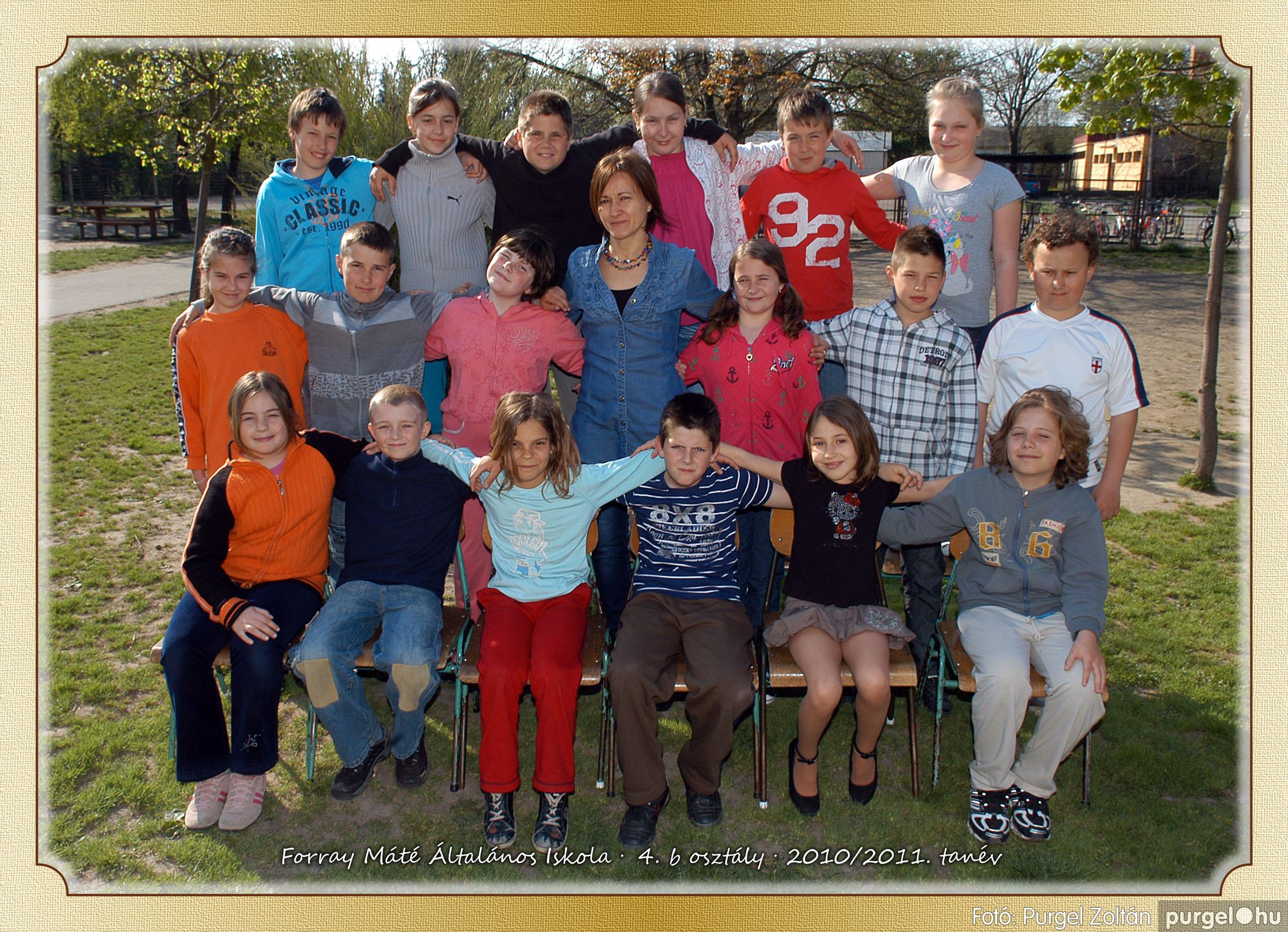2011.04.18-05.30. 023 Forray Máté Általános Iskola osztályképek 2011. - Fotó:PURGEL ZOLTÁN© 4b-2.jpg