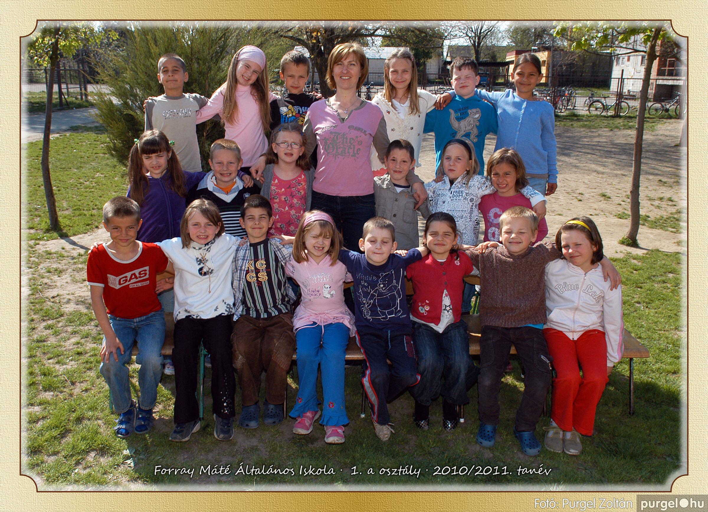 2011.04.18-05.30. 002 Forray Máté Általános Iskola osztályképek 2011. - Fotó:PURGEL ZOLTÁN© 1a-2.jpg