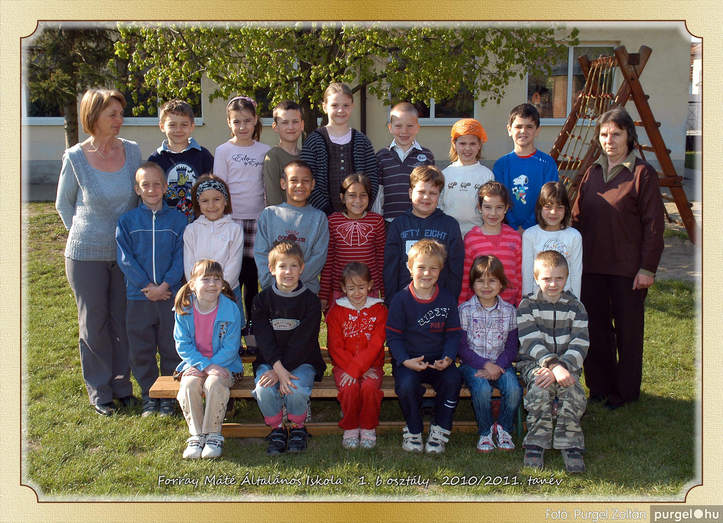 2011.04.18-05.30. 004 Forray Máté Általános Iskola osztályképek 2011. - Fotó:PURGEL ZOLTÁN© 1b-1.jpg