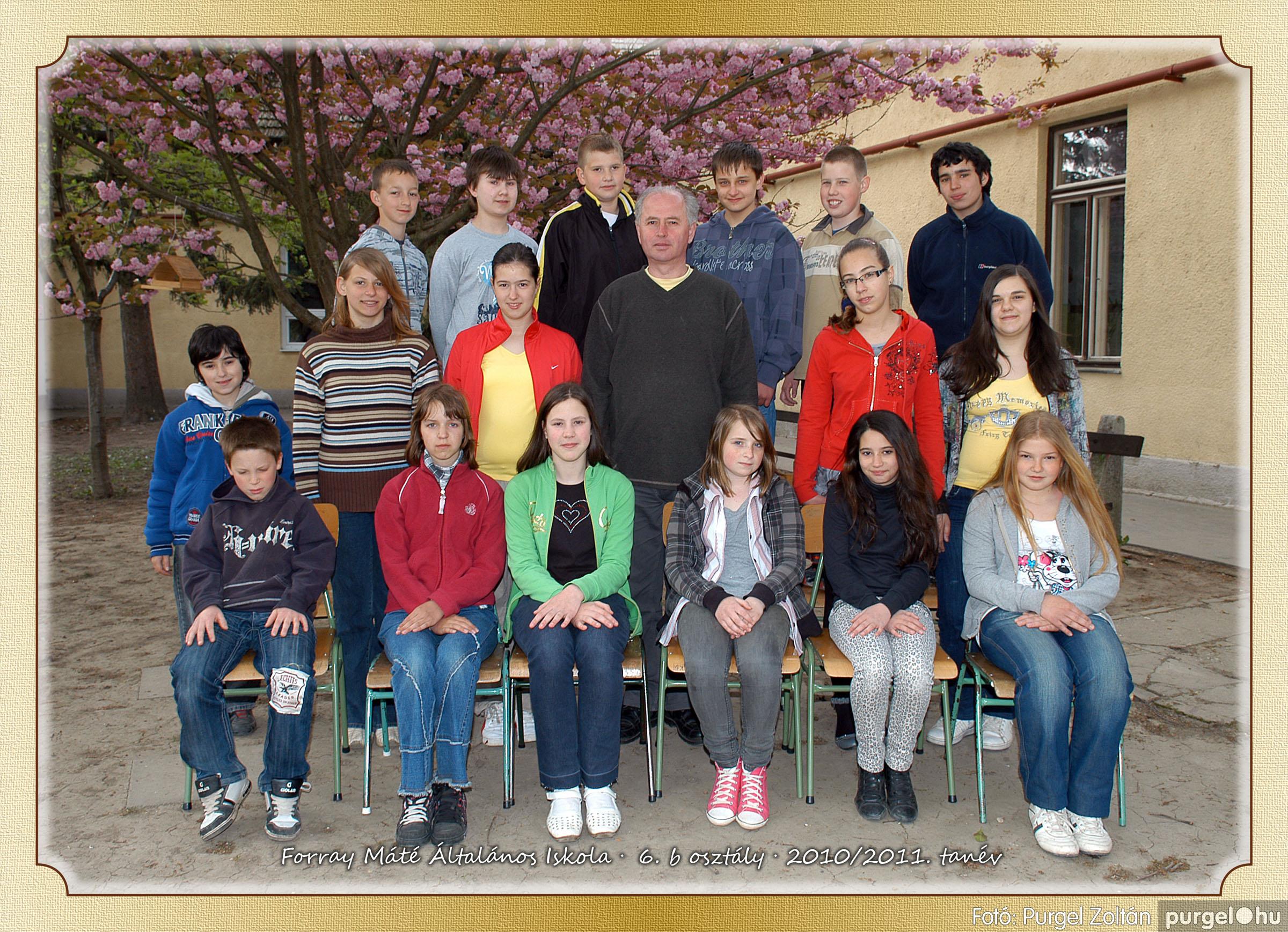 2011.04.18-05.30. 031 Forray Máté Általános Iskola osztályképek 2011. - Fotó:PURGEL ZOLTÁN© 6b-1.jpg
