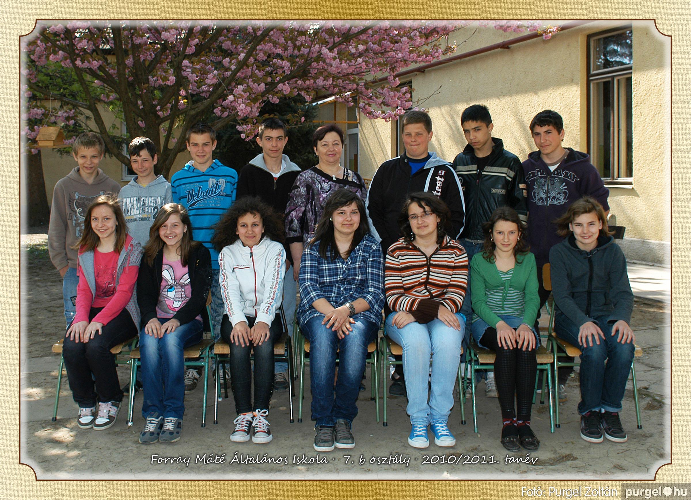 2011.04.18-05.30. 035 Forray Máté Általános Iskola osztályképek 2011. - Fotó:PURGEL ZOLTÁN© 7b-1.jpg