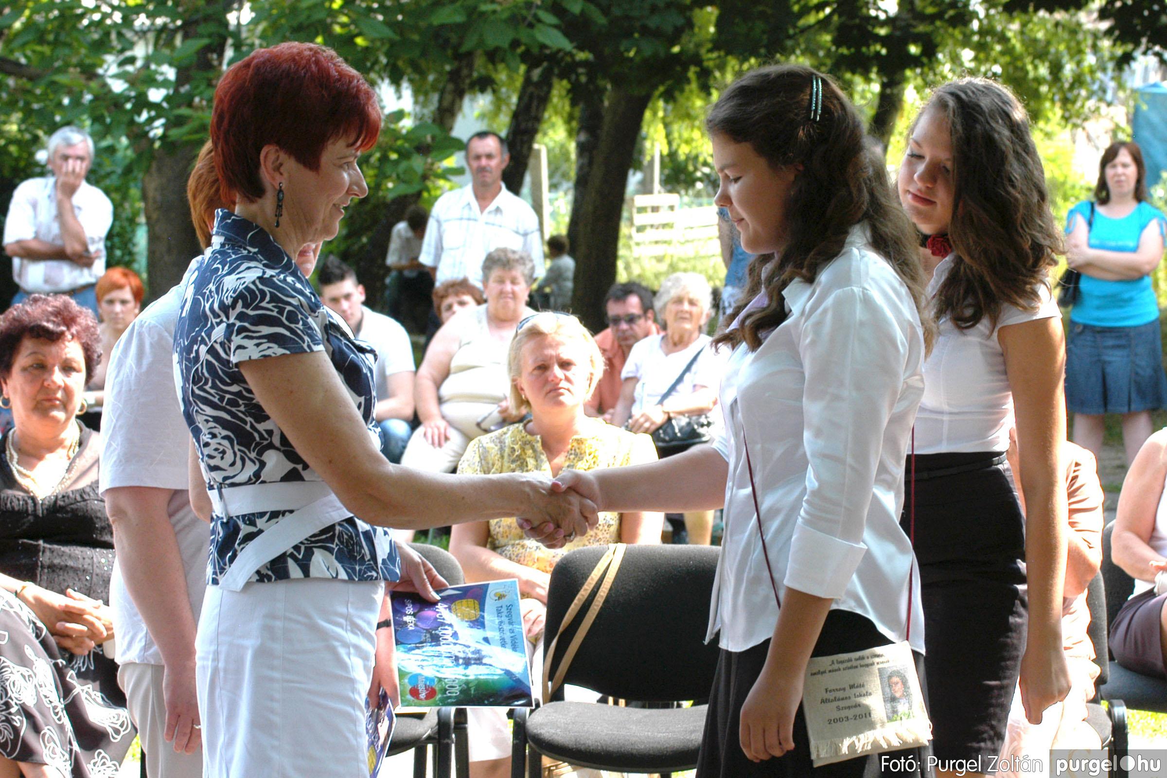 2011.06.18. 307 Forray Máté Általános Iskola ballagás 2011. - Fotó:PURGEL ZOLTÁN© DSC_0447q.jpg