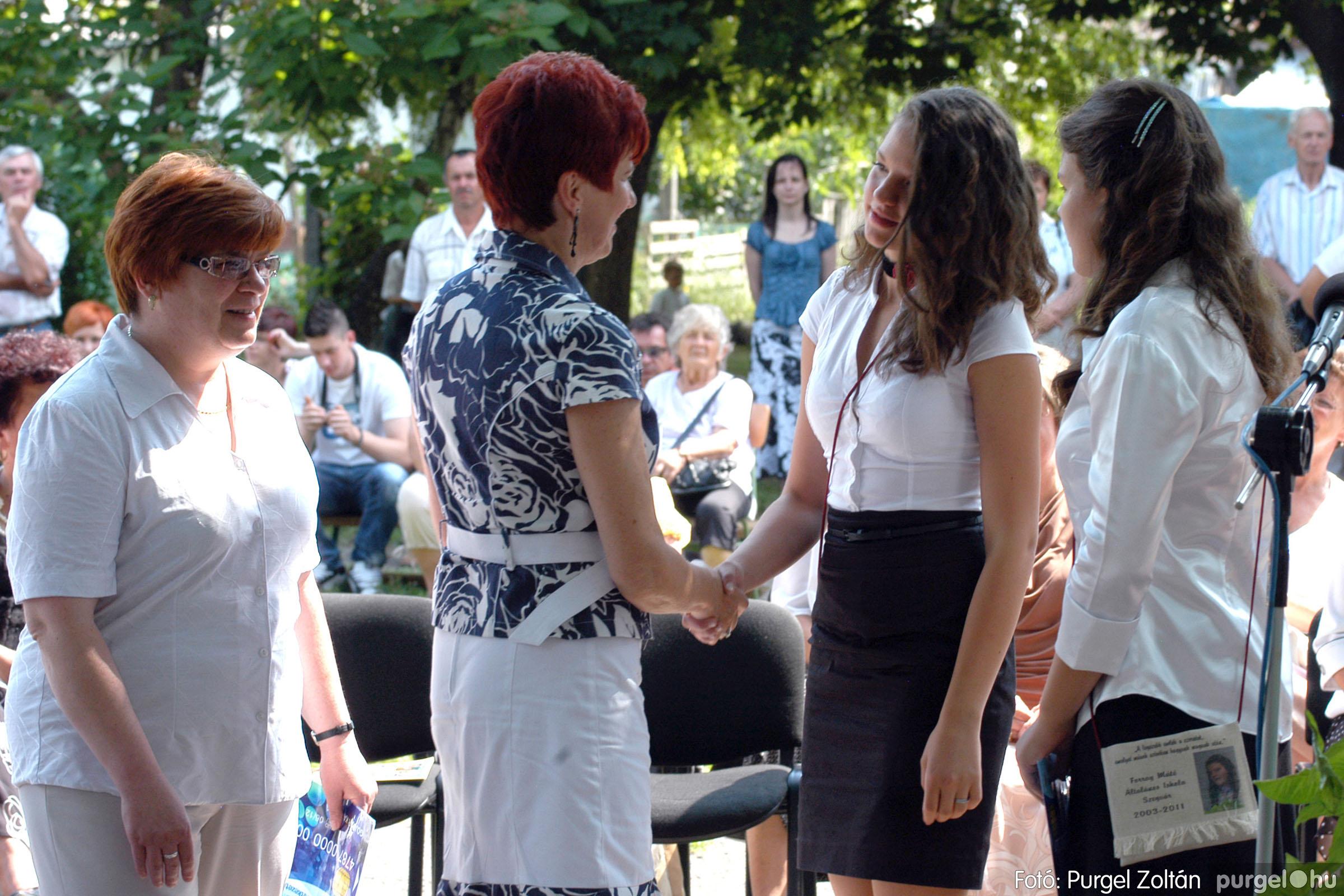 2011.06.18. 309 Forray Máté Általános Iskola ballagás 2011. - Fotó:PURGEL ZOLTÁN© DSC_0452q.jpg