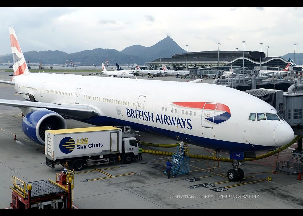 B777-336/ER | British Airways | G-STBG | HKG