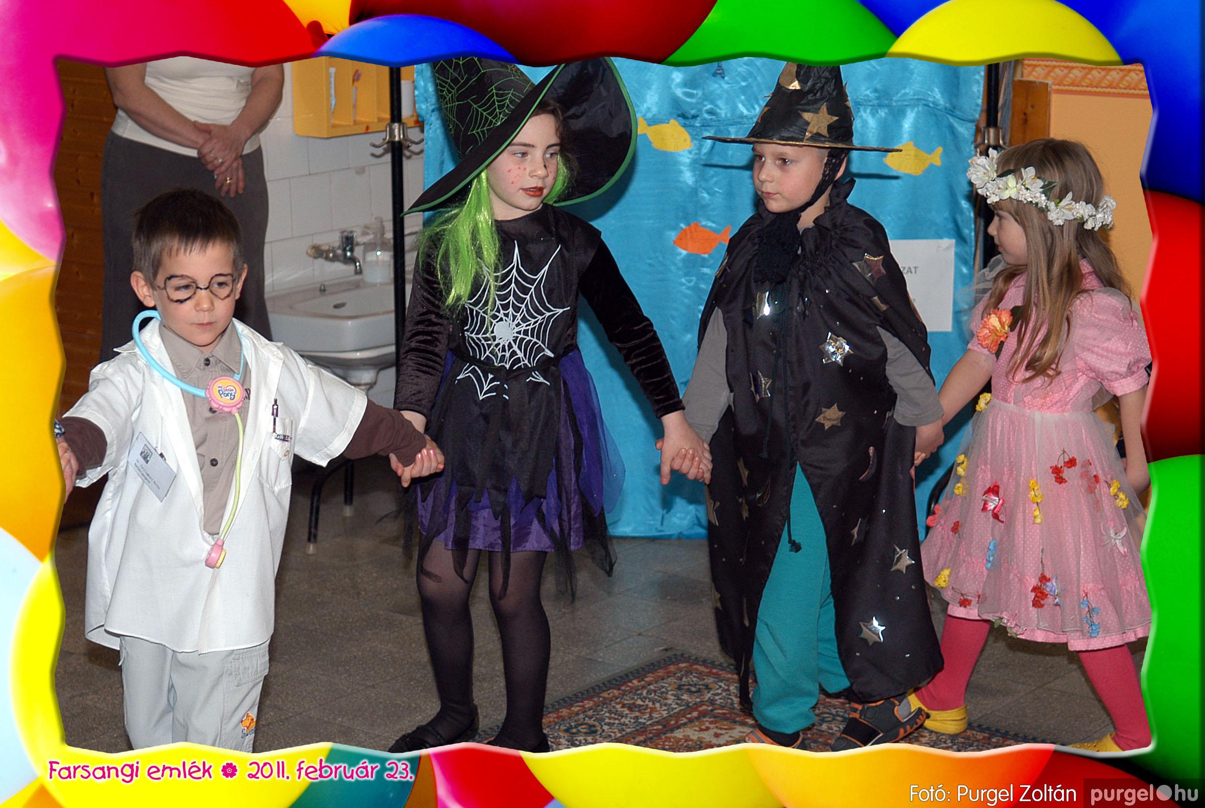 2011.02.23. 041 Kurca-parti Óvoda farsang 2011. - Szivárvány csoport - Fotó:PURGEL ZOLTÁN© 605.jpg