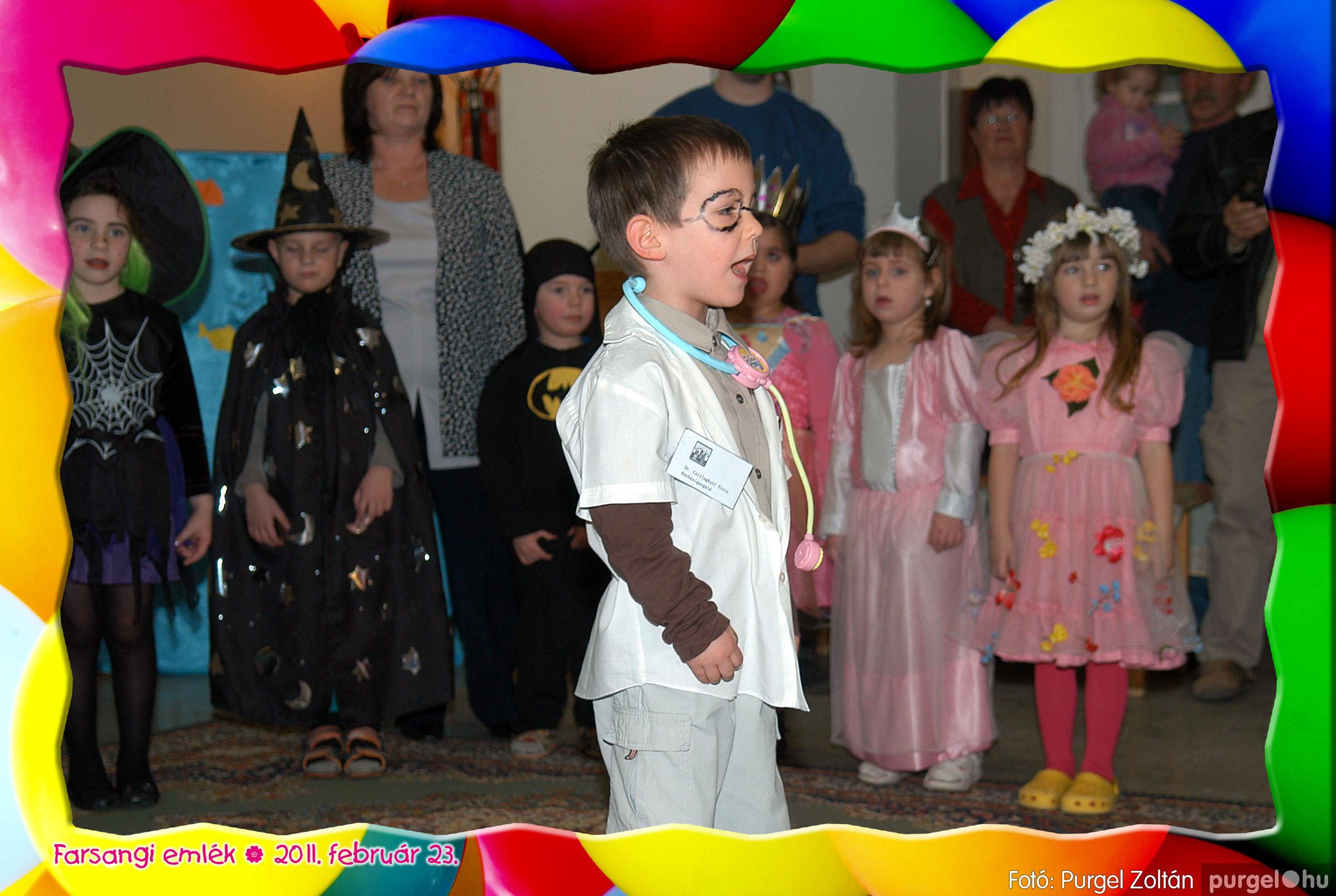 2011.02.23. 060 Kurca-parti Óvoda farsang 2011. - Szivárvány csoport - Fotó:PURGEL ZOLTÁN© 624.jpg