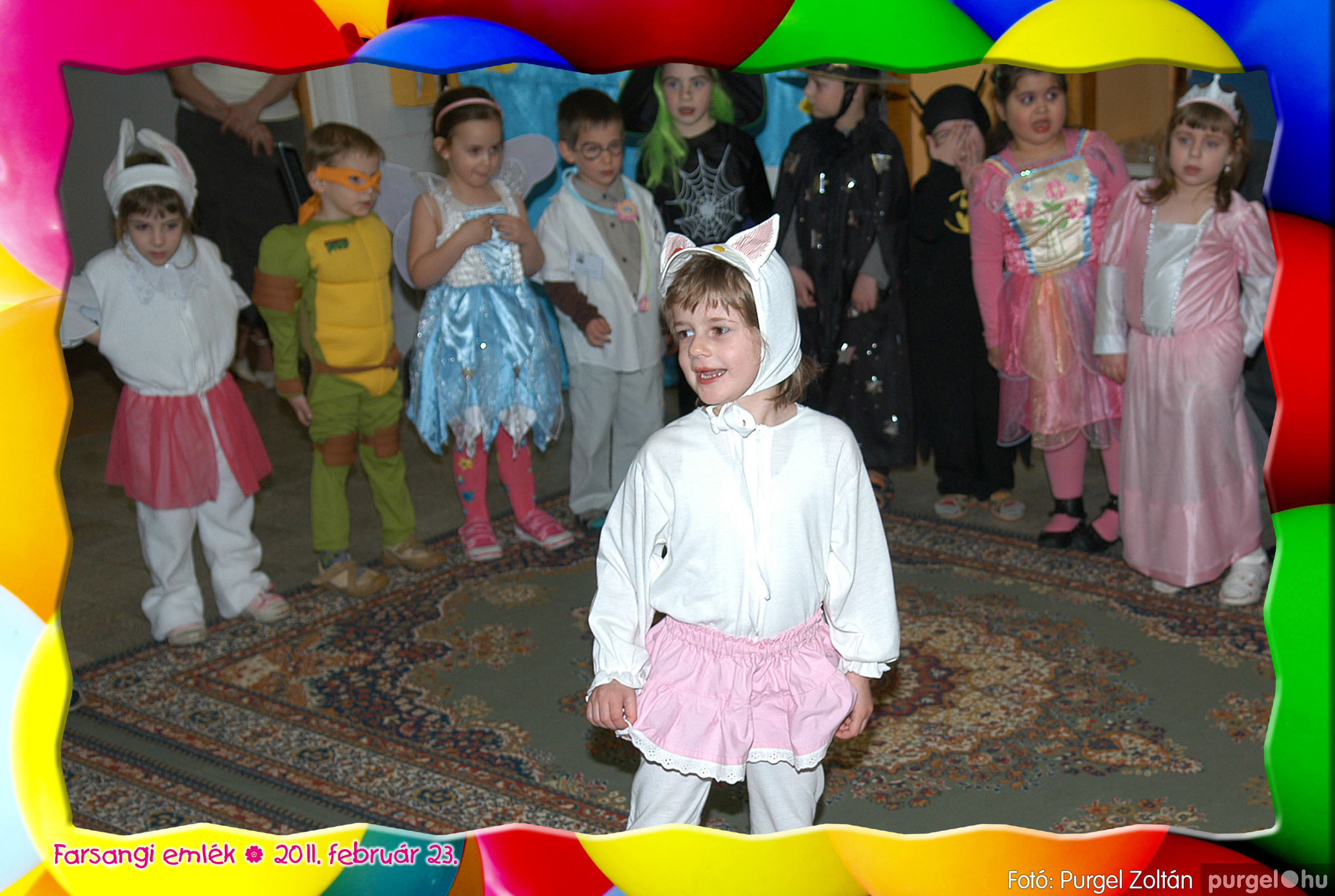 2011.02.23. 063 Kurca-parti Óvoda farsang 2011. - Szivárvány csoport - Fotó:PURGEL ZOLTÁN© 627.jpg