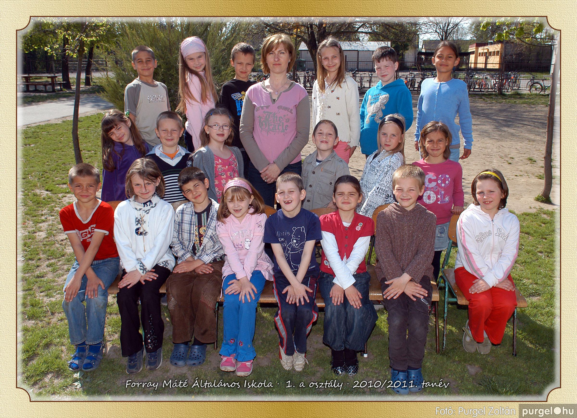 2011.04.18-05.30. 001 Forray Máté Általános Iskola osztályképek 2011. - Fotó:PURGEL ZOLTÁN© 1a-1.jpg
