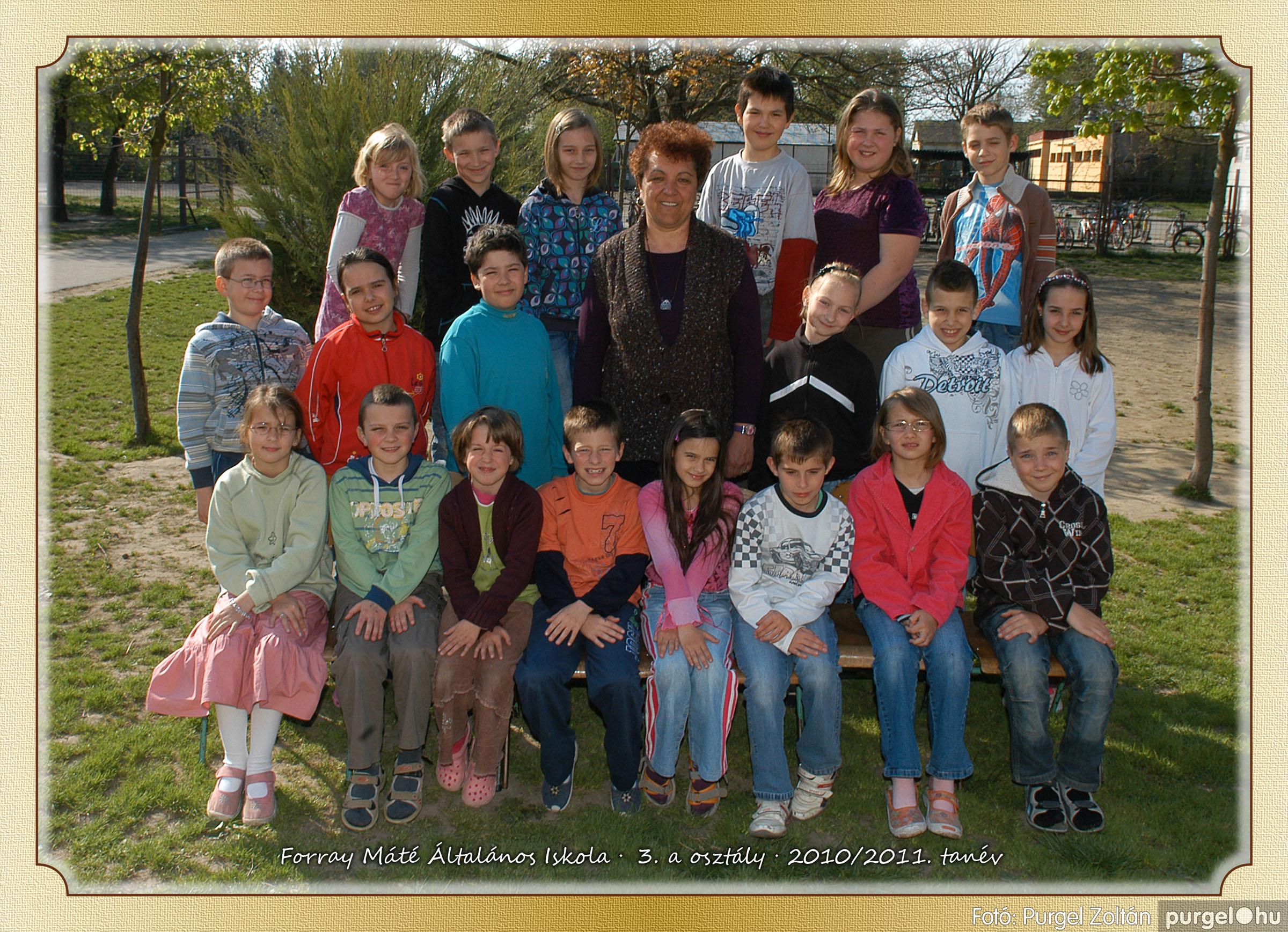 2011.04.18-05.30. 013 Forray Máté Általános Iskola osztályképek 2011. - Fotó:PURGEL ZOLTÁN© 3a-1.jpg