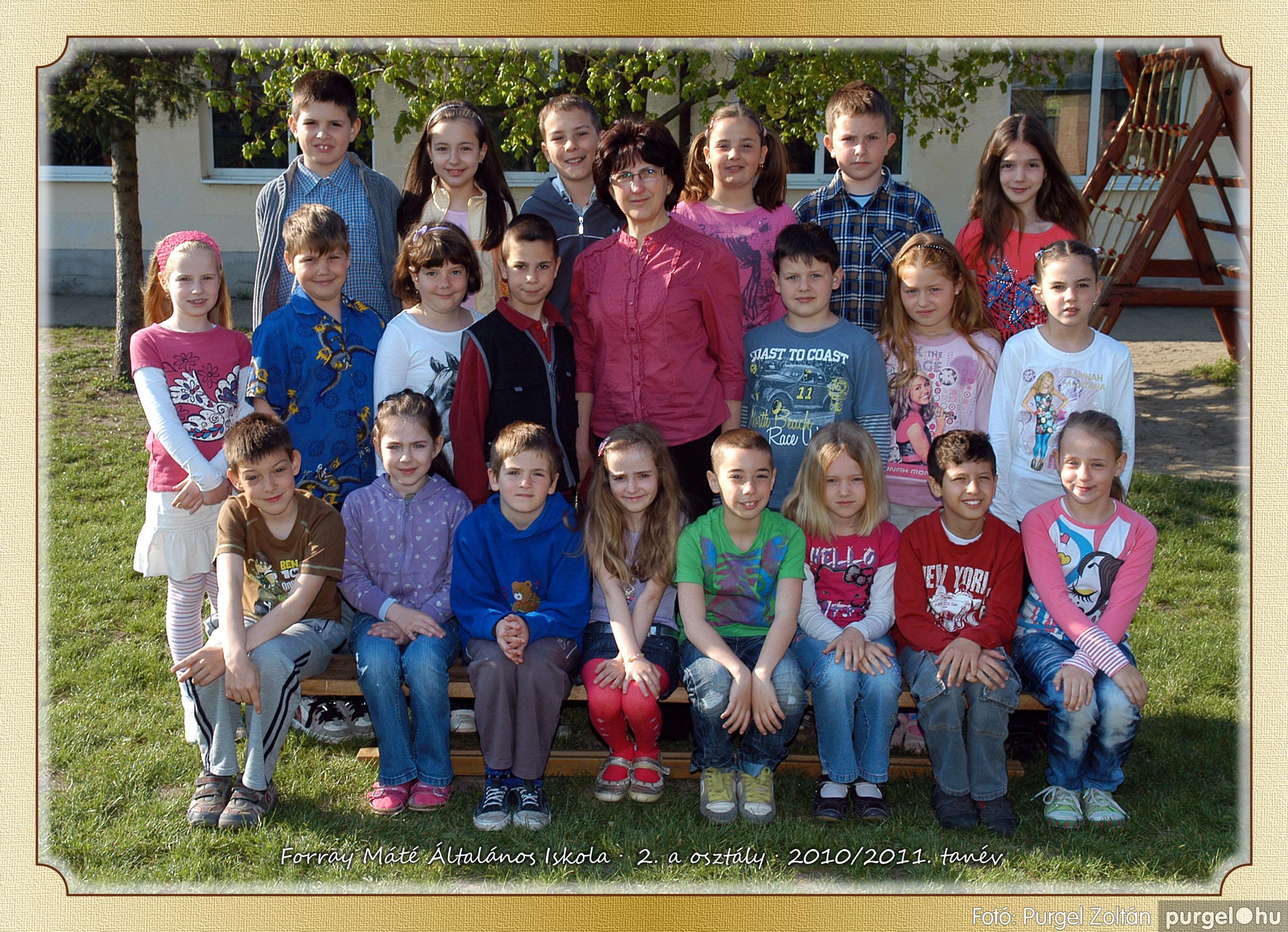 2011.04.18-05.30. 007 Forray Máté Általános Iskola osztályképek 2011. - Fotó:PURGEL ZOLTÁN© 2a-1.jpg