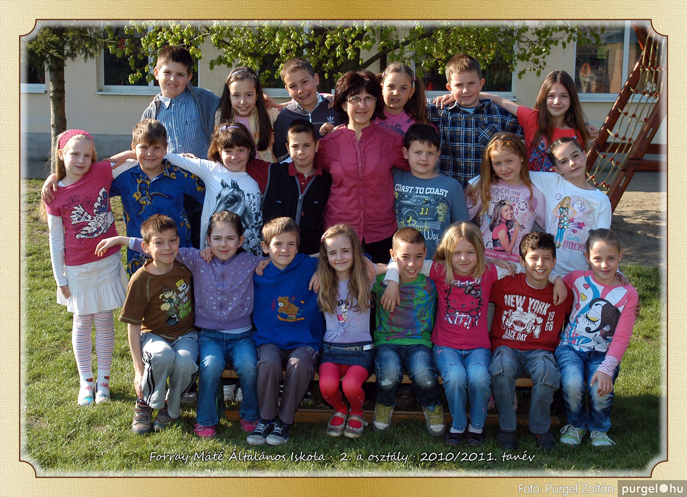 2011.04.18-05.30. 008 Forray Máté Általános Iskola osztályképek 2011. - Fotó:PURGEL ZOLTÁN© 2a-2.jpg