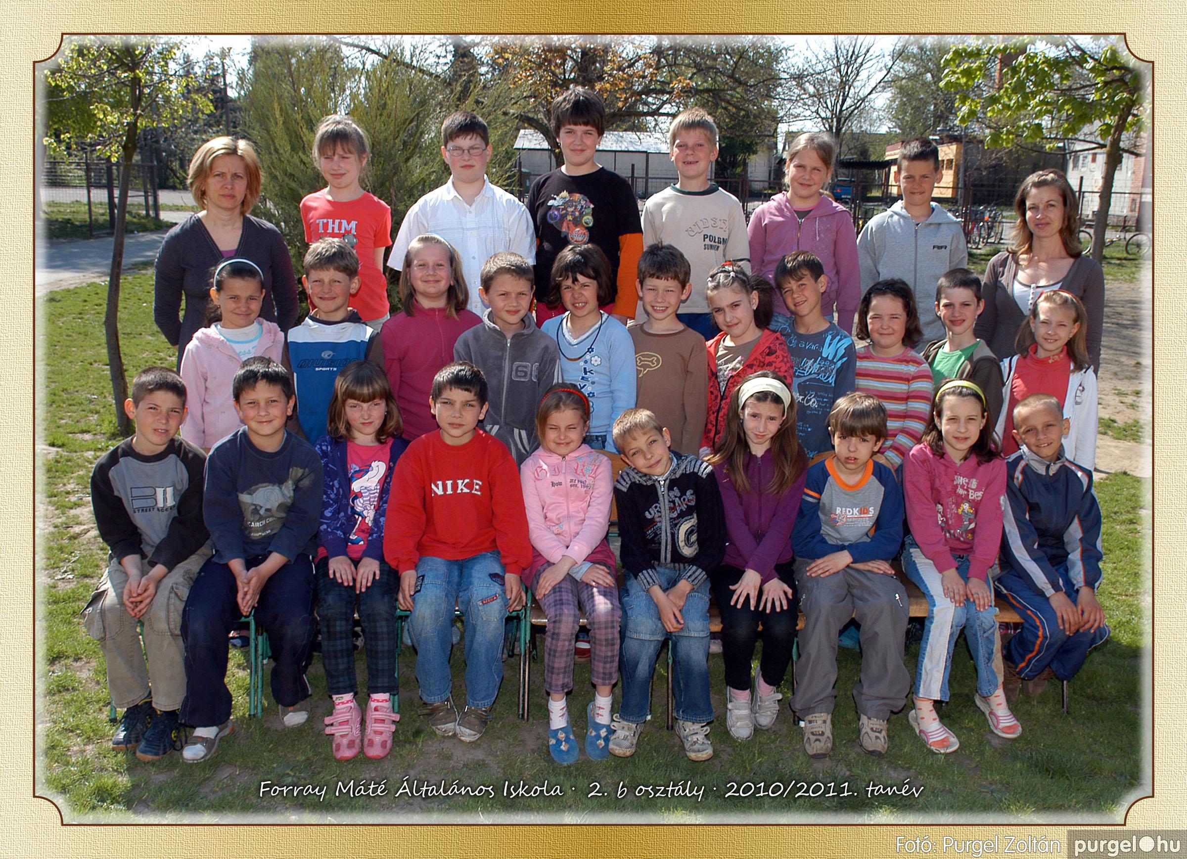 2011.04.18-05.30. 010 Forray Máté Általános Iskola osztályképek 2011. - Fotó:PURGEL ZOLTÁN© 2b-1.jpg