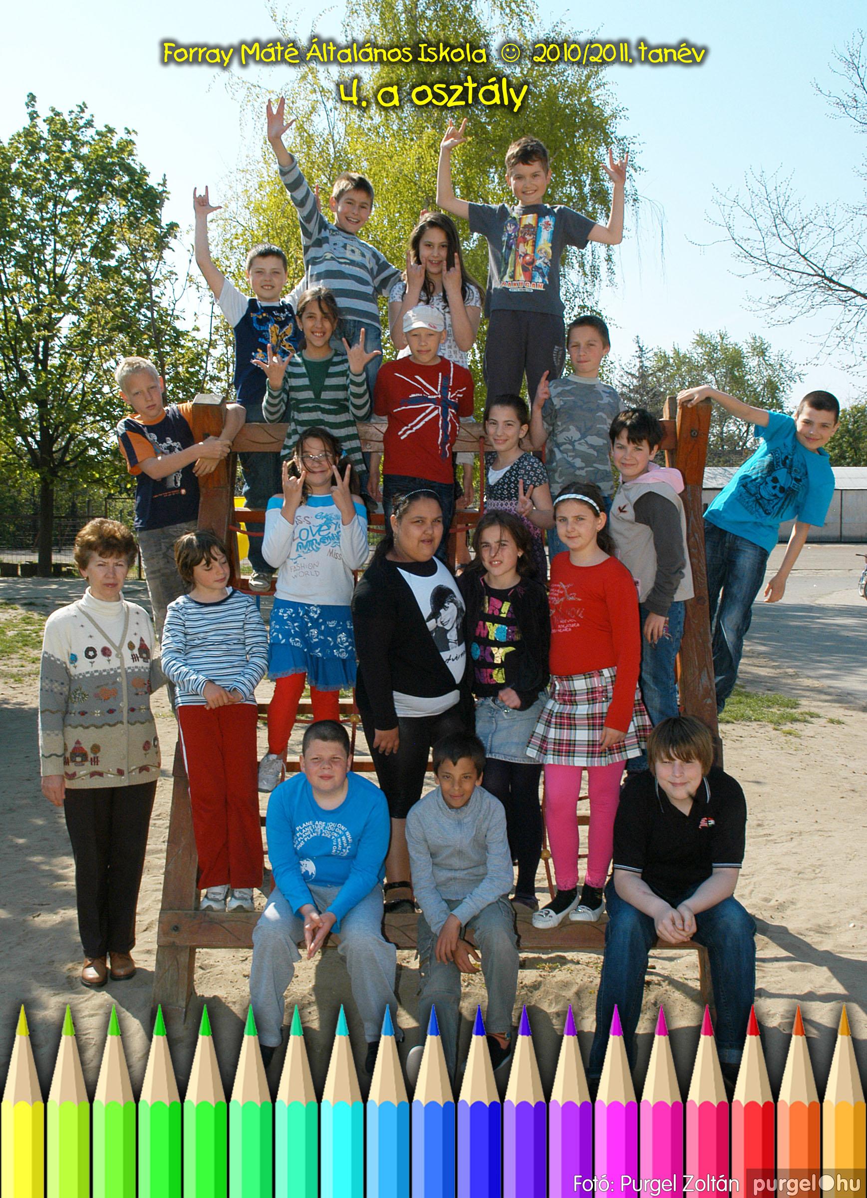 2011.04.18-05.30. 021 Forray Máté Általános Iskola osztályképek 2011. - Fotó:PURGEL ZOLTÁN© 4a-3.jpg