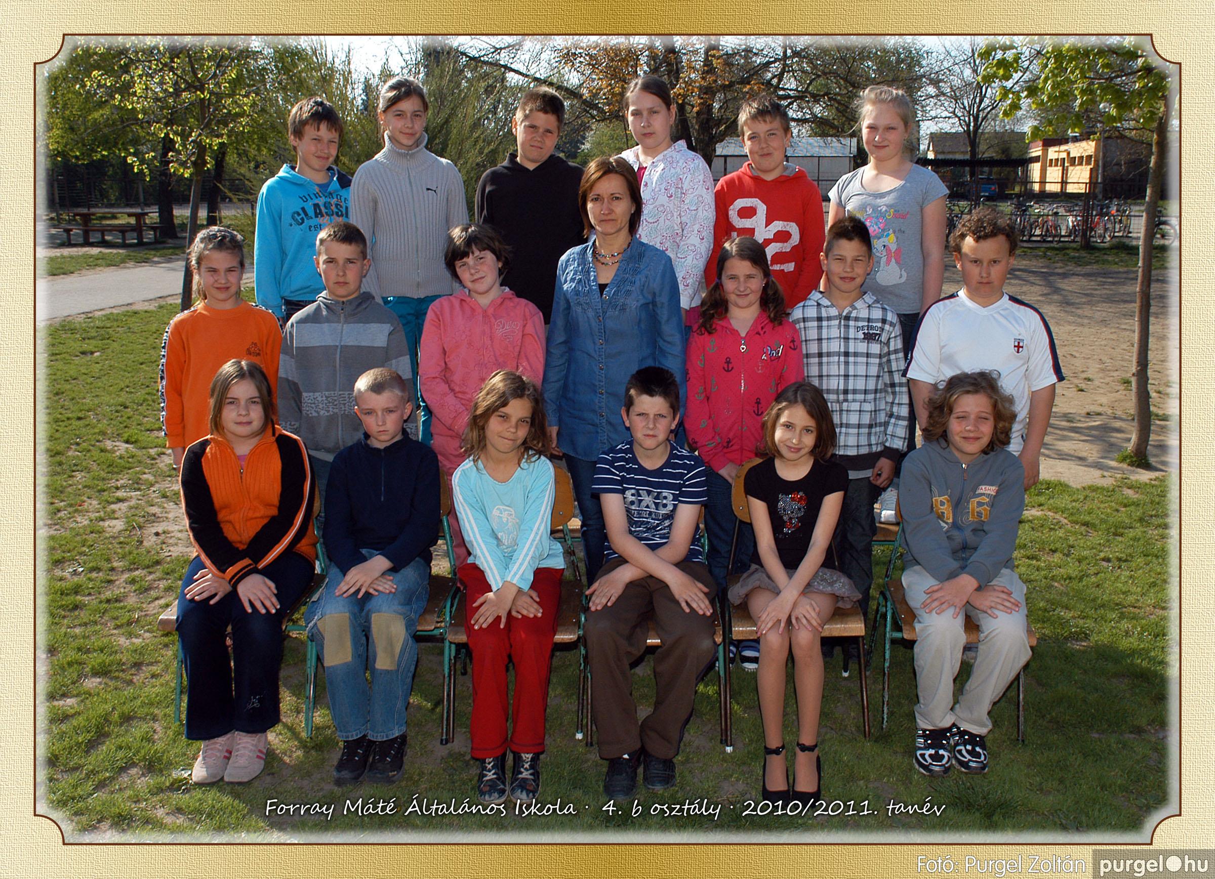 2011.04.18-05.30. 022 Forray Máté Általános Iskola osztályképek 2011. - Fotó:PURGEL ZOLTÁN© 4b-1.jpg
