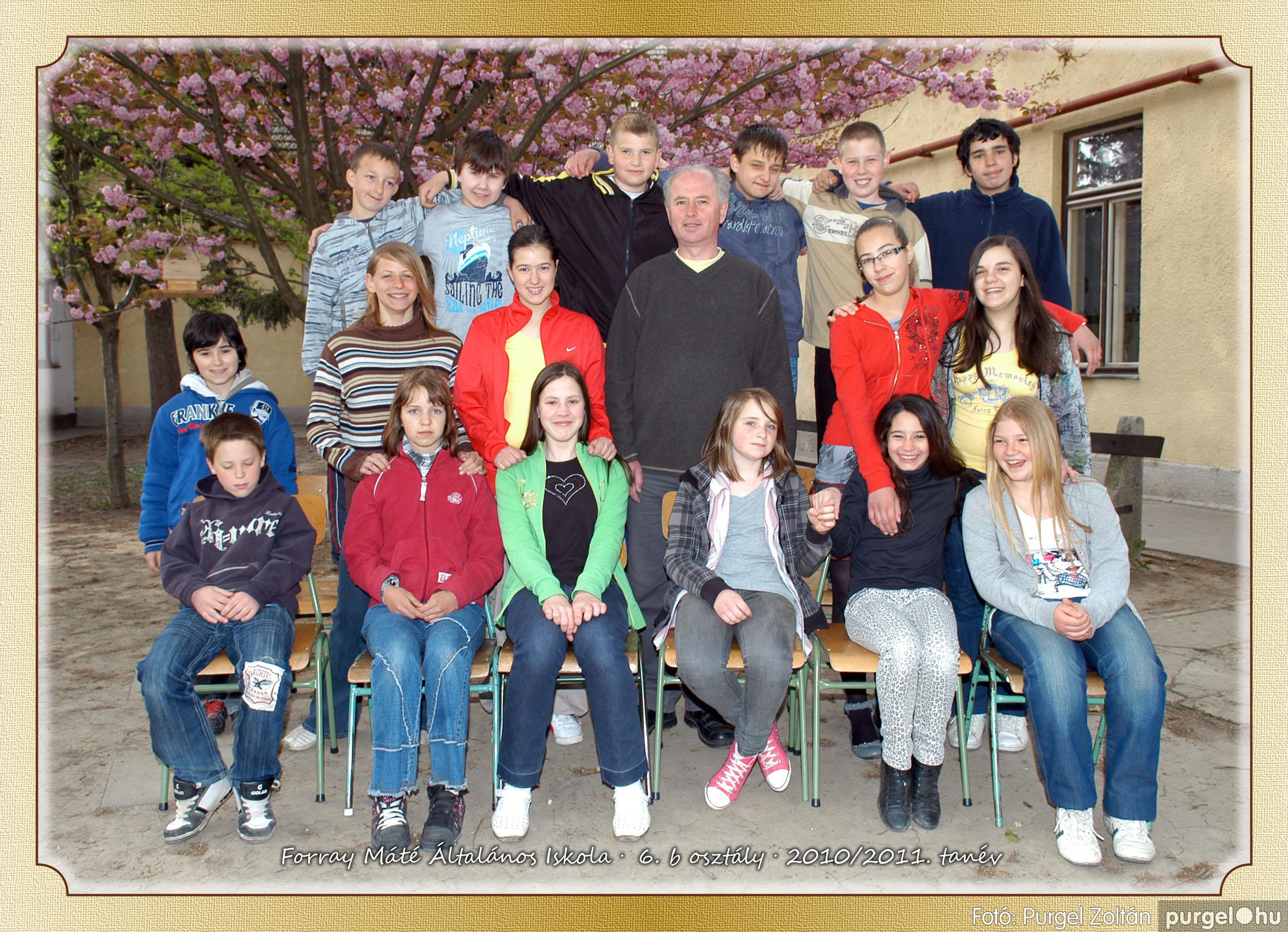 2011.04.18-05.30. 032 Forray Máté Általános Iskola osztályképek 2011. - Fotó:PURGEL ZOLTÁN© 6b-2.jpg