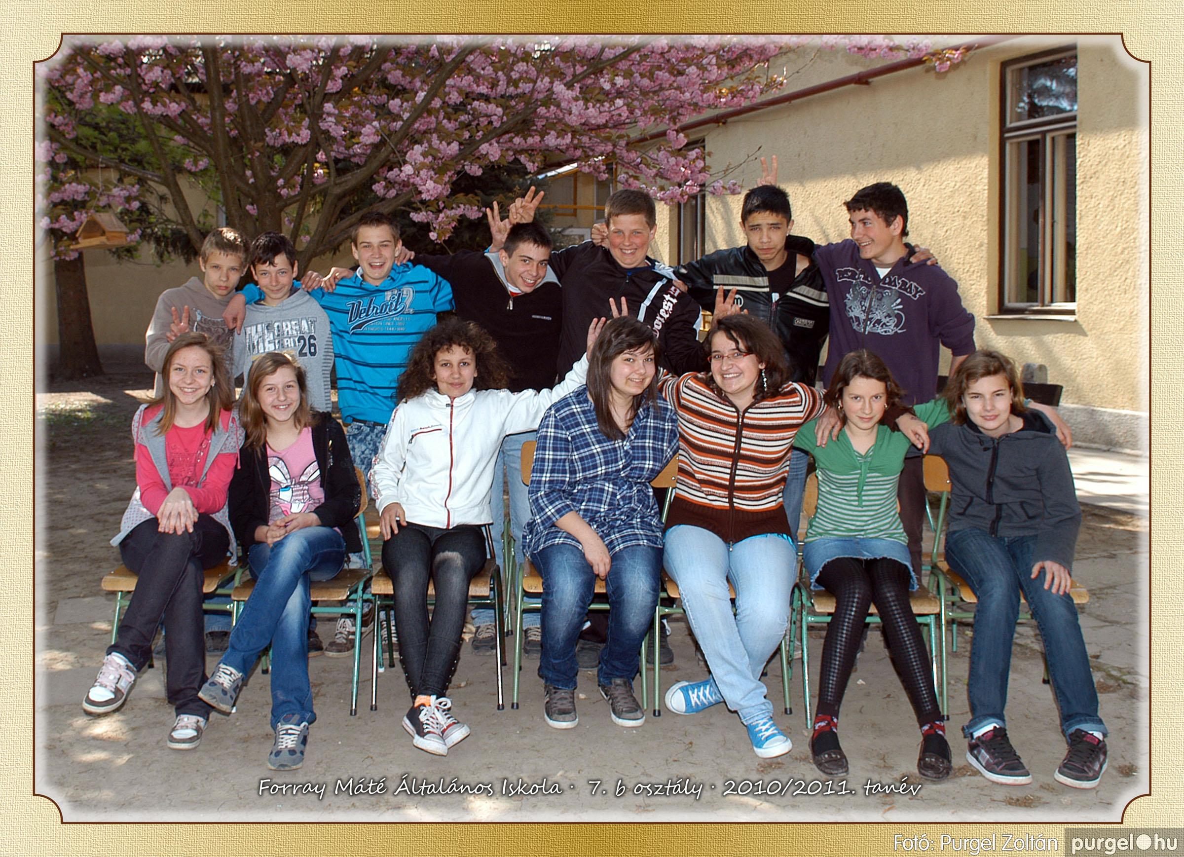2011.04.18-05.30. 036 Forray Máté Általános Iskola osztályképek 2011. - Fotó:PURGEL ZOLTÁN© 7b-2.jpg