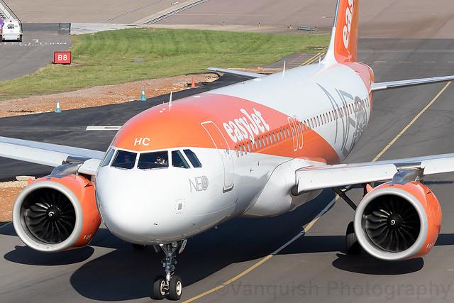 G-UZHC easyJet Airline A320neo London Luton Airport