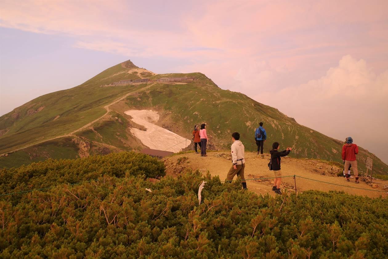 白馬岳 丸山