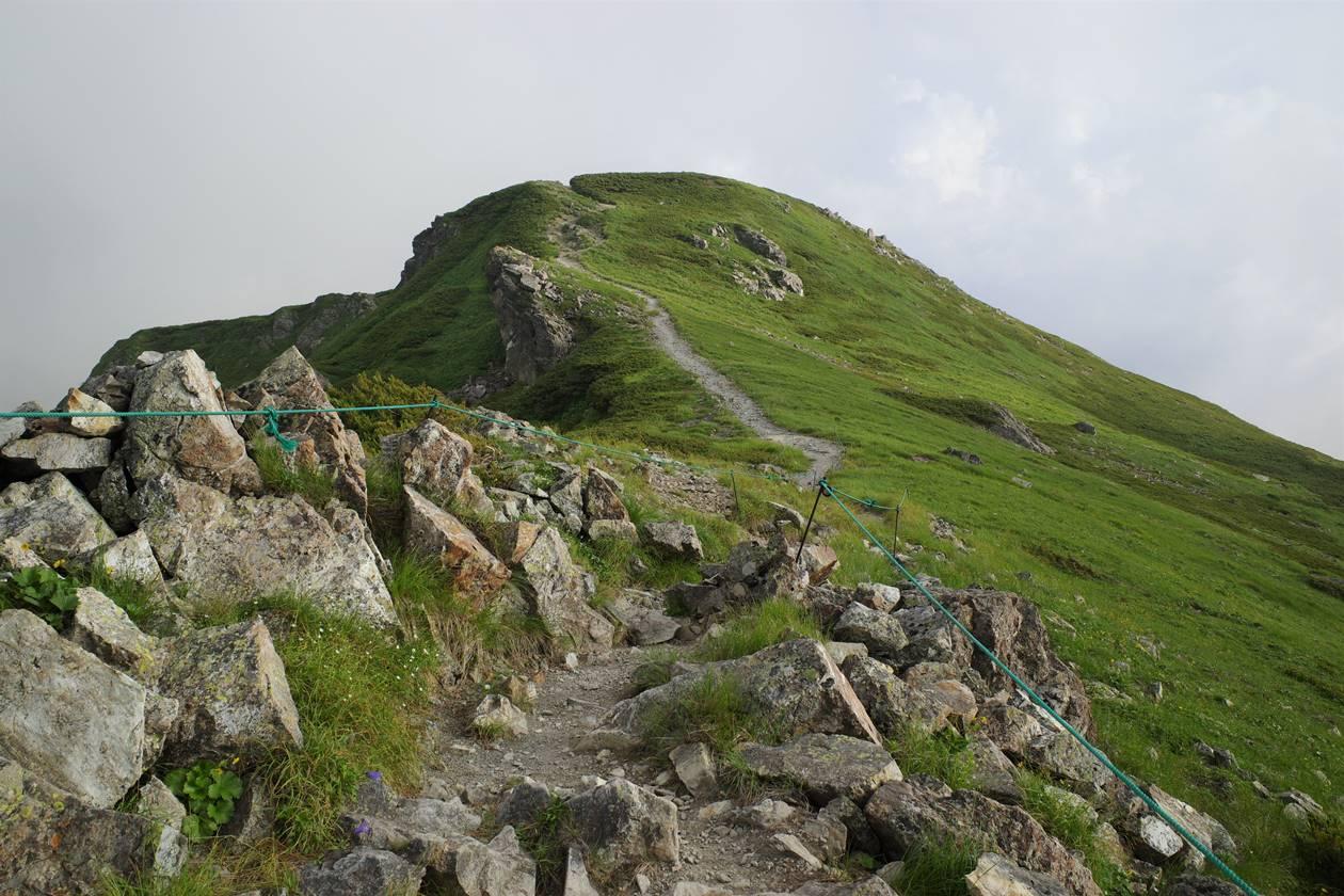 白馬岳 丸山へ