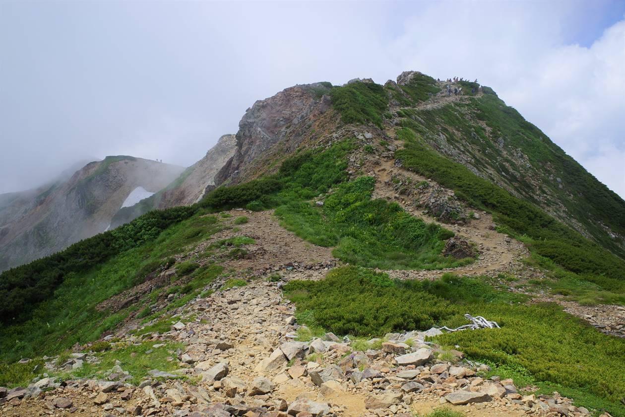 白馬岳・小蓮華山